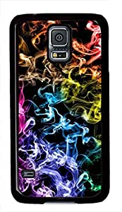 Colorful Fire Theme Samsung Galaxy S5 i9600 Case