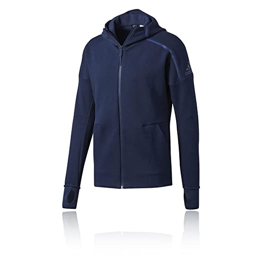 Amazon Adidas Hoodie At Store Men's Zne Running Clothing Fz Ss17 ARL5j34