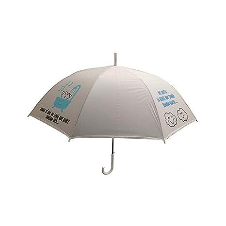 "Paraguas blanco ""Lluvia a mi?"