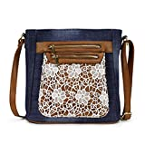 Scarleton Fashion Denim Crossbody Bag H1740
