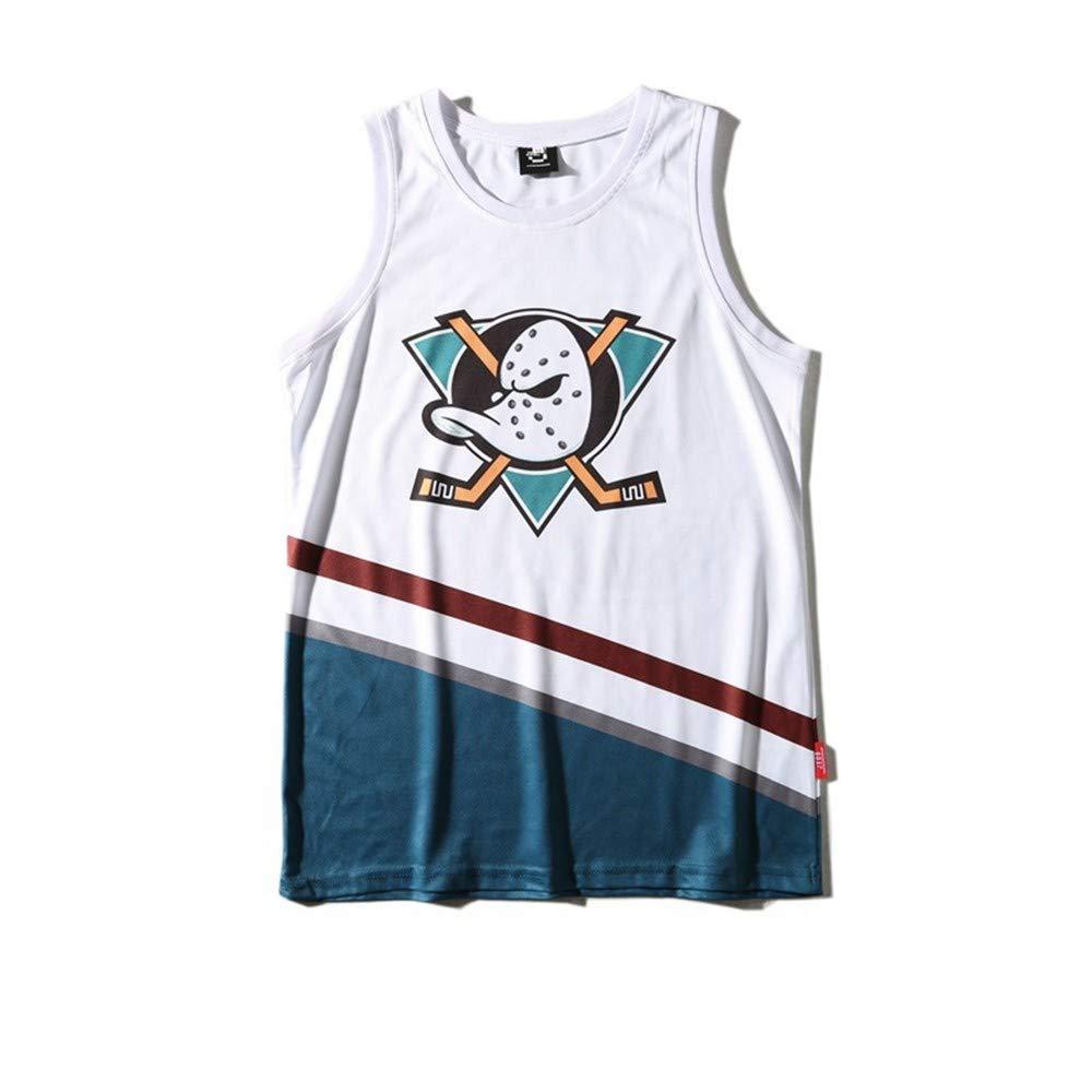 OPPP Camiseta sin Mangas, Hombre Casual, Ropa de Baloncesto Blanca ...