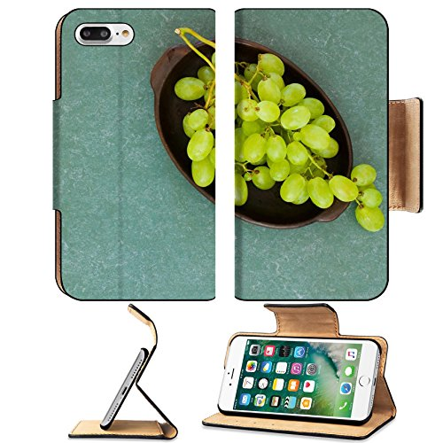 Museum Cluster (Luxlady Premium Apple iPhone 7 Plus Flip Pu Leather Wallet Case iPhone7 Plus 33834887 green grapes)