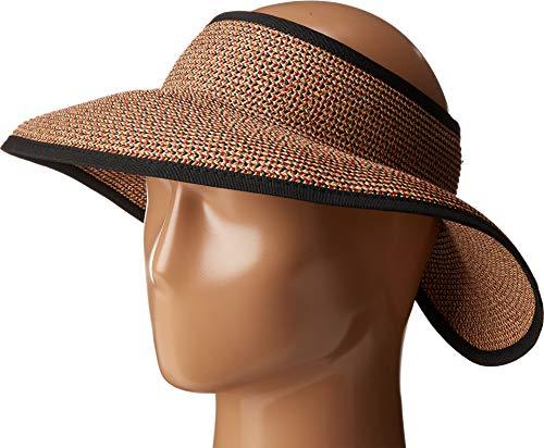 San Diego Hat Co. Women's UBV002OSXBR, Mixed Black/red, One Size (Jane Wicker)