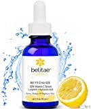 Best Vitamin C Serum for Face - with Hyaluronic Acid and Vitamin C - Repair Sun Damage, Remove Age Spots, Smooth Wrinkles & Fine Lines by Belitae