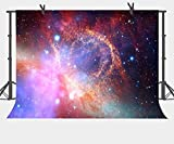 FUERMOR Customized Space Background 7x5ft Gorgeous Universe Stars Photography Backdrop Studio Photo Props LXFU074