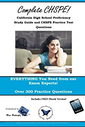 CHSPE Review! California High School Proficiency Test Study Guide and CHSPE Practice Test Questions