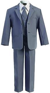 Amazon.com: Avery Hill Boys formales Tuxedo 5 pieza traje ...