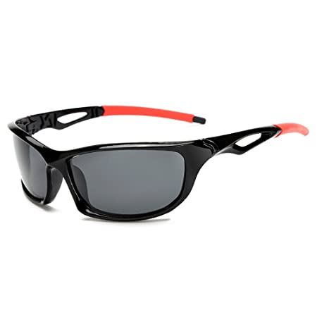 Pingenaneer Polarized Sports Sunglasses / Unbreakable Frame Driving ...