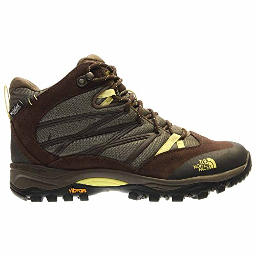 Mid Face Shroom Brown Yellow North II Shoe Women's Hiking Storm The Waterproof ZBXzWqaw