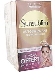 Nutreov Sunsublim Autobronzant Lot de 3 x 28 Capsules
