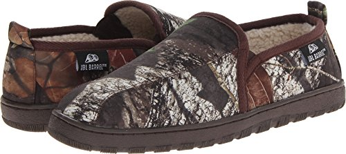 Dubbelloops Heren Fleece Gevoerde Slippers Bemoste Eiken Camo