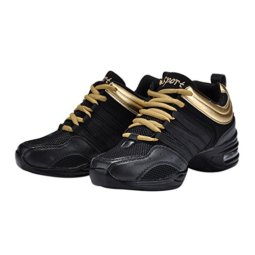 jazzdance semen Sport Fitness Schuhe Tanzsneaker Websneaker Tanz Boost Golden Tanzschuhe Gymnastik Dancesneaker Training Turnschuh 6wqgB1