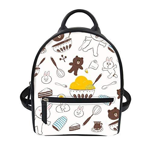 Nuovo Fresca C11 Baackpack Ragazza Donne Disegno Trenand Moda Impressionante Bag Mini E Della 8RwB6d1qn