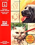 How to Draw Animals, Cortina Famous Schools Staff, 0805015272