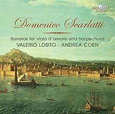 Scarlatti: Sonatas for Viola D'Amore & Harpsichord