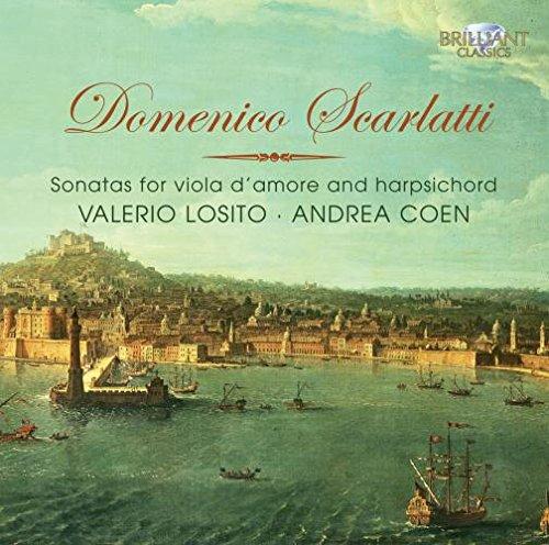 (Scarlatti: Sonatas for Viola D'Amore & Harpsichord)