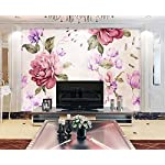 LIWALLPAPER-Carta-Da-Parati-3D-Fotomurali-Pastorale-DellAnnata-DellAcquerello-Floreale-Camera-da-Letto-Decorazione-da-Muro-XXL-Poster-Design-Carta-per-pareti-200cmx140cm