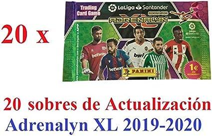 20 ENTRENADORES NUEVOS DE SOBRE. PACK ADRENALYN XL 2020