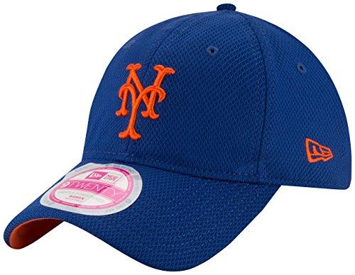 MLB New York Mets Women's Tech Essential De 9Twenty Adjustable Cap, One (New York Mets Apparel)