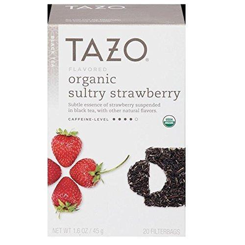Tazo Tea Organic Tea - Sultry Strawberry (Black Tea Organic Fruit)