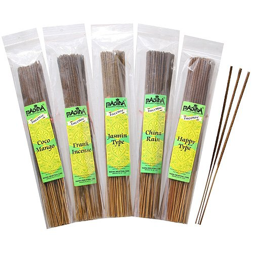 Jasmine - Exotic Madina Incense Sticks 100 Pack Bundle