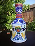 Authentic Puebla Fine TALAVERA Ceramic Candle Holder Pottery 10