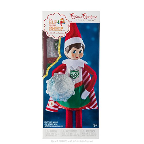 The Elf on the Shelf Claus Couture Collection Scout Elf Superhero Girl (Good Places To Put Elf On The Shelf)