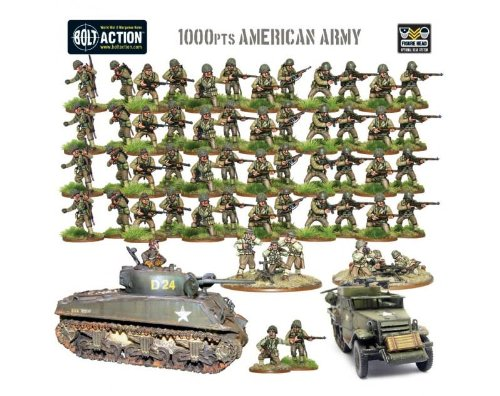 Warlord Games Bolt Action: US American Starter Army
