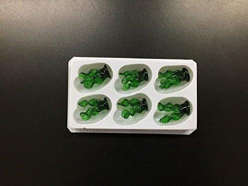 【イベント工作教室】ジェルキャンドルガラス細工 水草【6個入り】