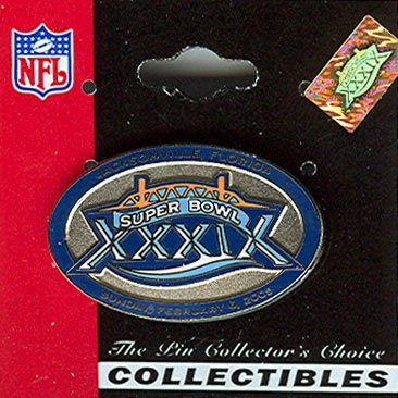 NFL Super Bowl 39 Logo with Date