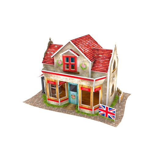 Lelifang 3D stereoscopic new listing world style hut building assembly model children 's toys W3108 UK - Hardware - Uk Store Police