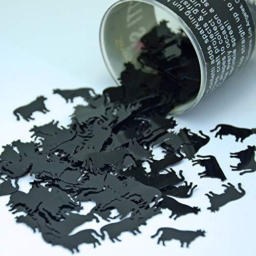 Confetti Cow Black - 2 Half Oz Bags (1 oz) Free Ship (9011)