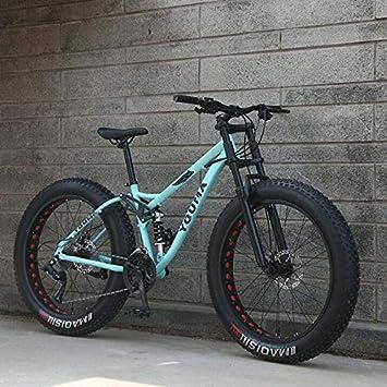 GASLIKE Ruedas de 26 Pulgadas, Bicicletas de montaña de Doble ...