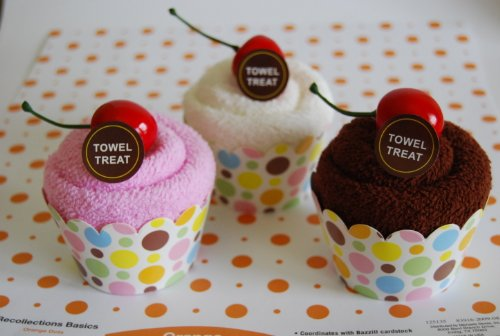 Towel Treat Towel Assorment, Cupcake