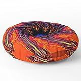Society6 Solar Winding Floor Pillow Round 26'' x 26''