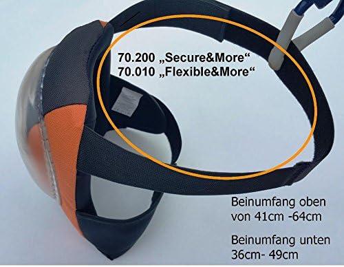 Professionnel Genouill/ères de s/écurit/é avec double utilisation par amovible Casquette I rembourrage quadruple I ajustement ergonomique pour le genou I Certifi/é selon DIN EN 14404 Ing/énierie allemande