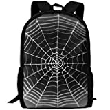 Spider Web Adult Travel Backpack School Casual Daypack Oxford Outdoor Laptop Bag College Computer Shoulder Bags