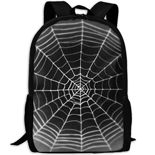 Spider Web Adult Travel Backpack School Casual Daypack Oxford Outdoor Laptop Bag College Computer Shoulder Bags by Leisue