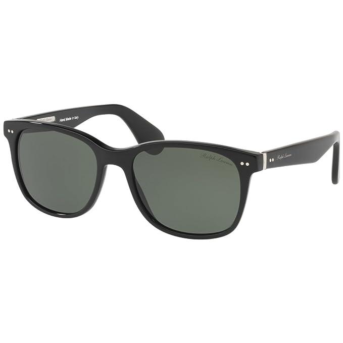 Ralph Lauren 0Rl8162P, Gafas de Sol para Hombre, Black, 56 ...