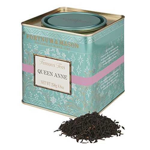 Fortnum & Mason British Tea, Queen Anne Blend, 250g Loose English Tea in a Gift Tin Caddy - Loose Tea Caddy