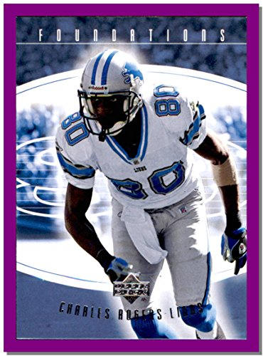 2004 Upper Deck Foundations #32 Charles Rogers DETROIT LIONS
