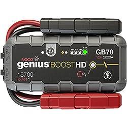NOCO Genius Boost HD GB70 2000 Amp 12V UltraSafe Lithium Jump Starter