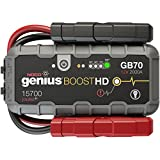 #8: NOCO Genius Boost HD GB70 2000 Amp 12V UltraSafe Lithium Jump Starter