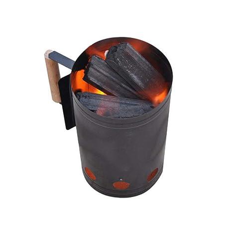 Einsgut Chimenea Barbacoa Barbacoa Inserciones de carbón ...