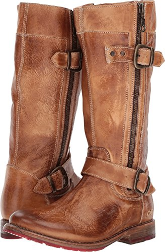 Bed Stu Women's Gogo Lug Boot, Tan Rustic, 8 (Brown Gogo Boots)