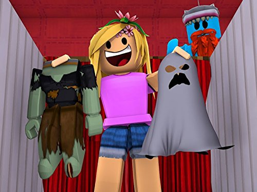 Clip: Picking Little Kelly's Halloween Costume in Roblox!