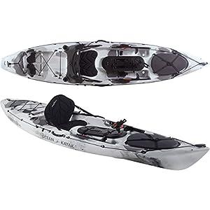 amazoncom ocean kayak trident 11 angler kayak siton