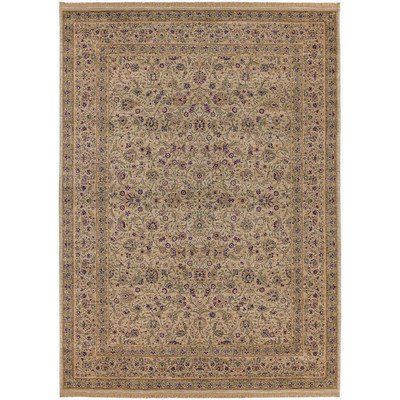 Shaw Antiquities (Antiquities All-Over Tabriz Beige Rug Rug Size: 7'9