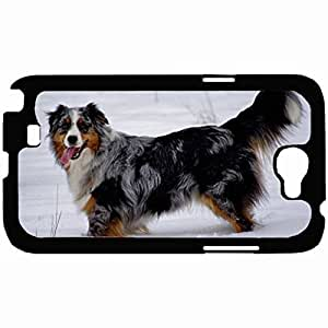New Style Customized Back Cover Case For Samsung Galaxy Note 2 Hardshell Case, Back Cover Design Dog Personalized Unique Case For Samsung Note 2 wangjiang maoyi by lolosakes
