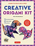 how to draw a panda - Creative Origami Kit: Learn to Fold Like a Pro!: Instructional DVD, 64-Page Origami Book, 72 Origami Papers: Original Easy Origami for Kids or Adults